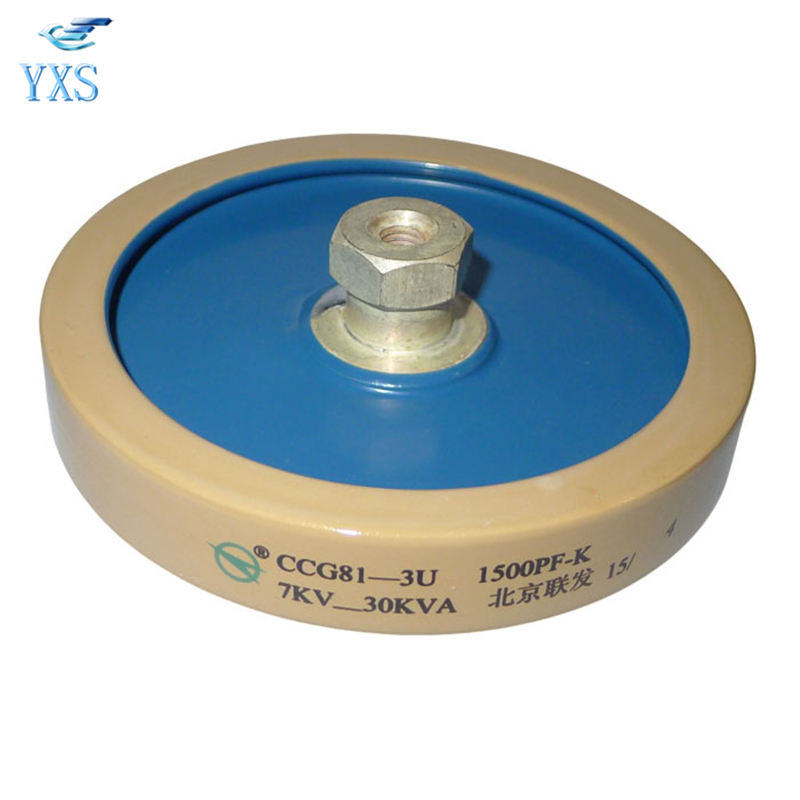 CCG81-2U 1500-K 1500PF-K 10KM 7KV-30KVA High Frequency Machine High Voltage Ceramic Dielectric Capacitor ...