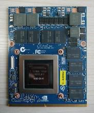 Оригинальный gtx980m GTX 980 м Графика GPU карты n16e-gx-a1 8 ГБ GDDR5 для Alienware Clevo gtx980 видеокарта GPU Замена
