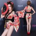 2016 Специальное Предложение Прямых Продаж Женщины Полиэстер Disfraces Танцевальные Костюмы Ds Сексуальный Костюм Dj