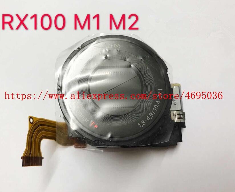 95% NEW Digital Reparação de Câmera Para SONY Cyber shot-DSC-RX100 DSC-RX100II RX100 RX100II M2 Lens Zoom Unidade Preto NO CCD