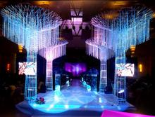 2019 new wedding crystal tree road lead luminous wishing runway props