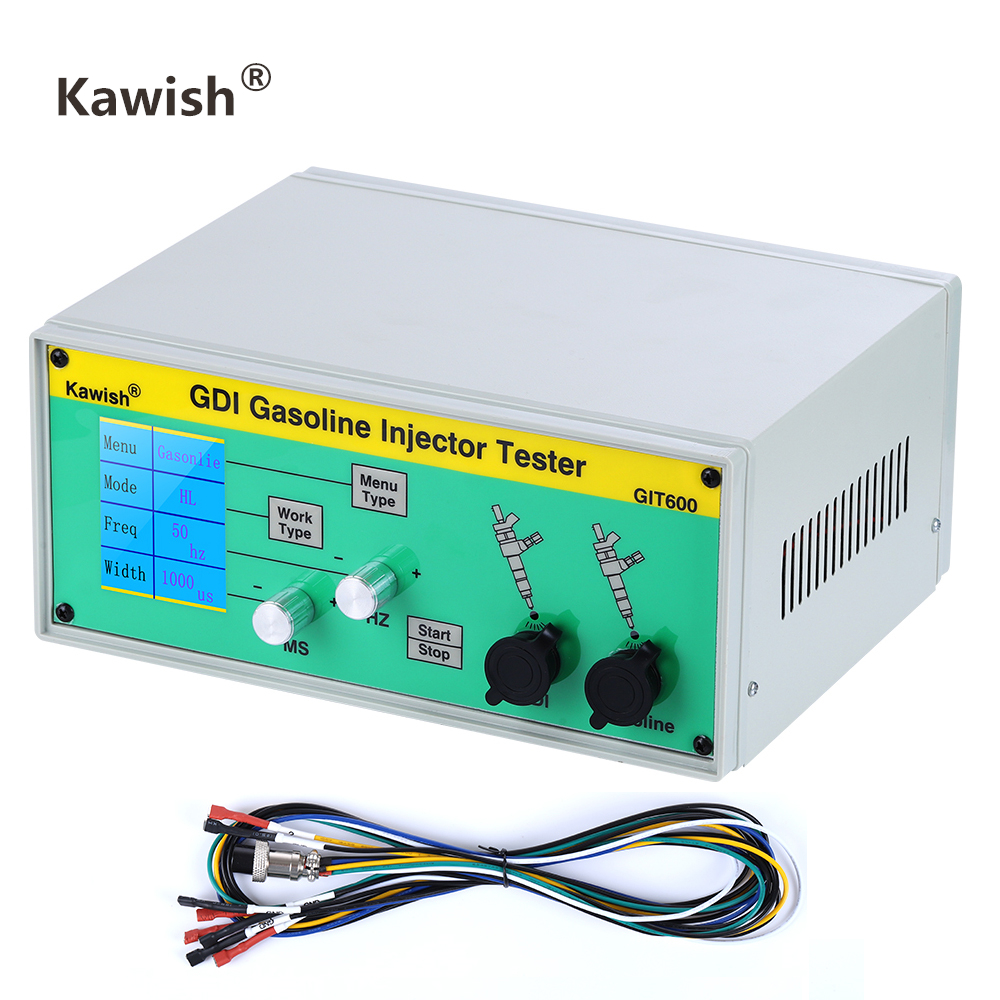 Latest  GIT600 GDI/FSI Gasoline Injector Tester Petrol Injector Tester Car Injector Tester Gasoline Direct Injection Tester