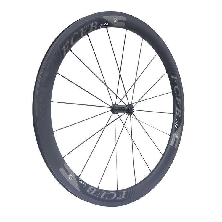 HTB14.5DPpXXXXaCXFXXq6xXFXXXU - 2017 FCFB road carbon wheels 700C F50 carbon wheels with R36 hubs for Road Bike, 25mm width 3Kmatt Carbon Road clincher wheelset