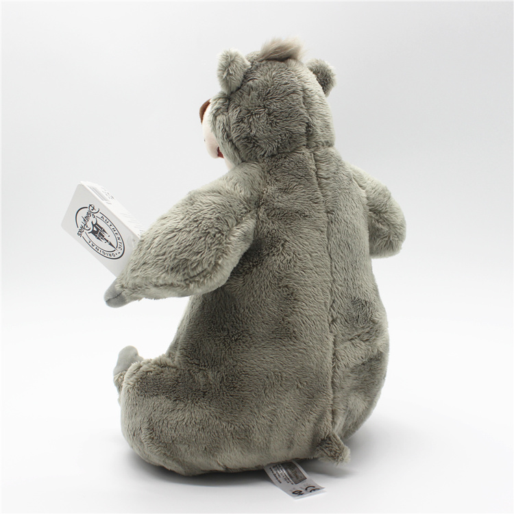 1 piece 28CM The Jungle Book bear Baloo Plush Toys Doll For kids Gifts&birthday