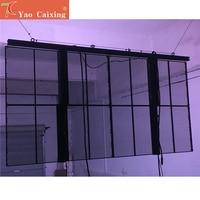 5500cd hohe helligkeit P3.91x7.81 shop shop glas fenster werbung transparente led display|LED-Anzeige|   -