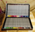 Marco Raffine 72 pcs Colored Pencils 24/36/48/72 Colored Pencil Lapis De Cor Profissional Iron Boxed Lapis de Cor School
