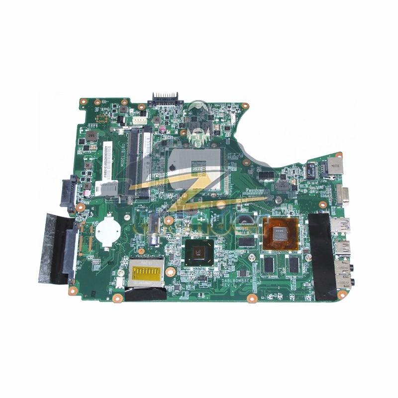 DABLBDMB8E0 A000080820 For Toshiba Satellite L750 L755 Laptop Motherboard HM65 DDR3 GT525M Video Card