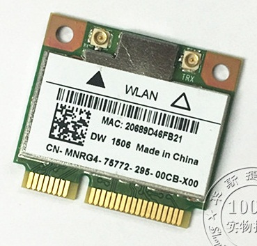 SSEA New Network Card For DELL For Atheros AR5b125 DW1506 802.11b/g Half Mini PCI-E Wireless Card