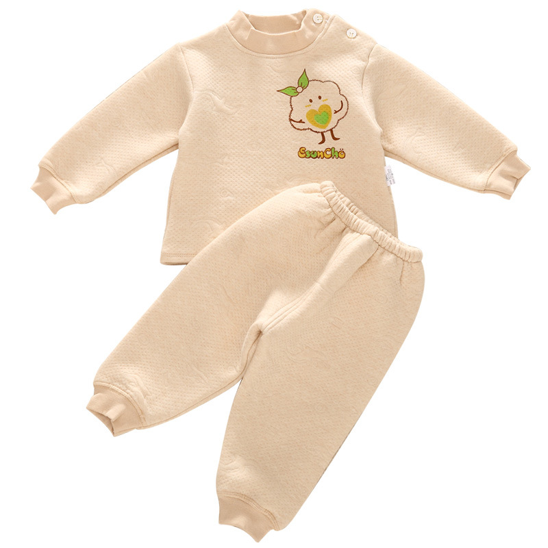 Newborn Baby Clothing Set Girls Boys Nature Color Cotton Character