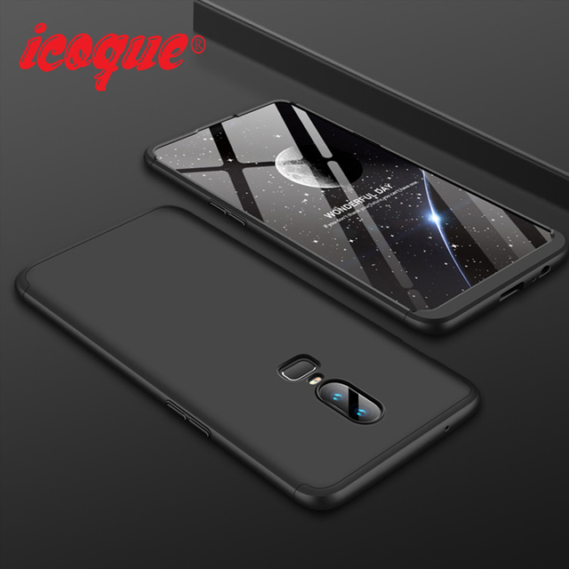 buy online e05c8 cd18b US $4.09 |Protective Cases for Oneplus 6 Case 360 Degree Full Cover 3 in 1  Oneplus6 Funda One plus 6 Phone Coque for Case Oneplus 6 5t 5 -in Fitted ...
