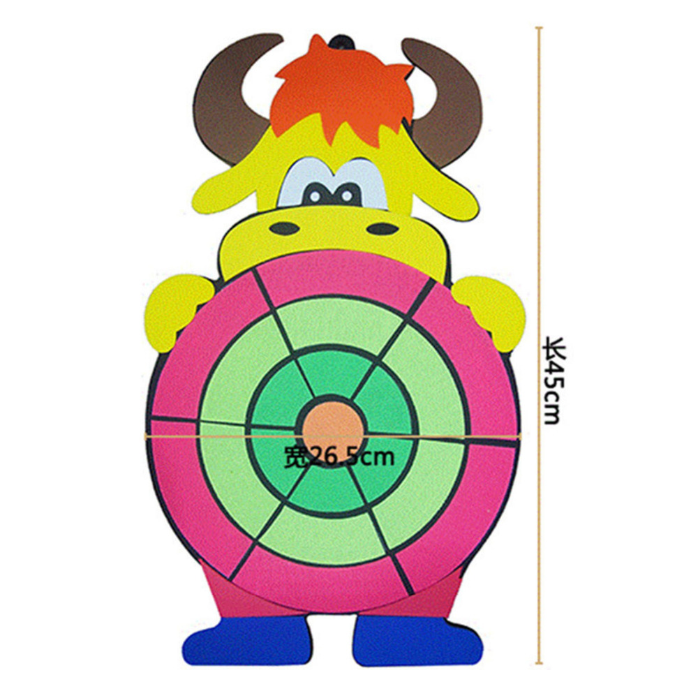 Toy Sports Children Sticky Animal Kindergarten Baby Indoor Outdoor Fun Ball Sandbag Throwing Target Plate Game Cartoon Hobbies