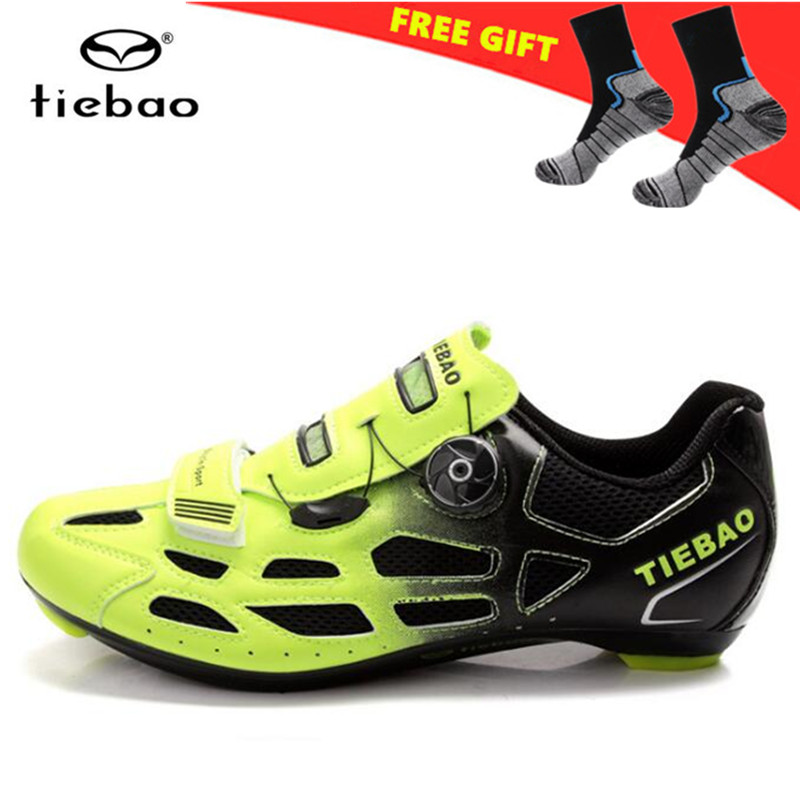 TIEBAO Road Cycling Shoes zapatillas deportivas mujer sapatilha ciclismo Breathable Men Women Road Bike Racing Athlet Shoes tiebao mtb cycling shoes 2018 for men women outdoor sports shoes breathable mesh mountain bike shoes zapatillas deportivas mujer
