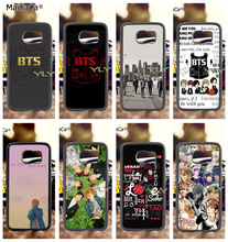 love pop korean band soft TPU edge phone cases for samsung s6 edge plus s7 edge s8 plus s9 plus note5 note8 note9 case pop art sad girl soft tpu edge mobile phone cases for samsung s6 edge plus s7 edge s8 plus s9 plus note5 note8 note9 case