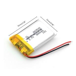 Высококачественные литий-ионные аккумуляторные ячейки, 3,7 В, 802535, 800 мА · ч, 3,7 В