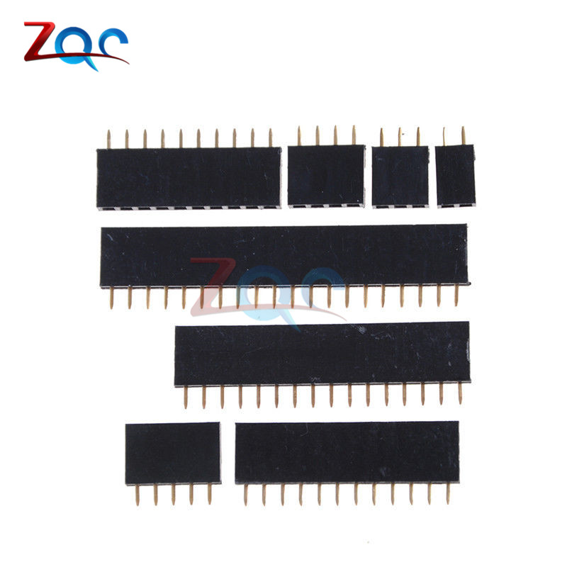 10pcs Single row female 2.54mm Pitch PCB Female Pin Header Connector Straight Single Row 2/3/4/5/6/8/10/12/14/15/16/20/40Pin 10pcs single row female 2 54mm pitch pcb female pin header connector straight single row 2 3 4 5 6 8 10 12 14 15 16 20 40pin