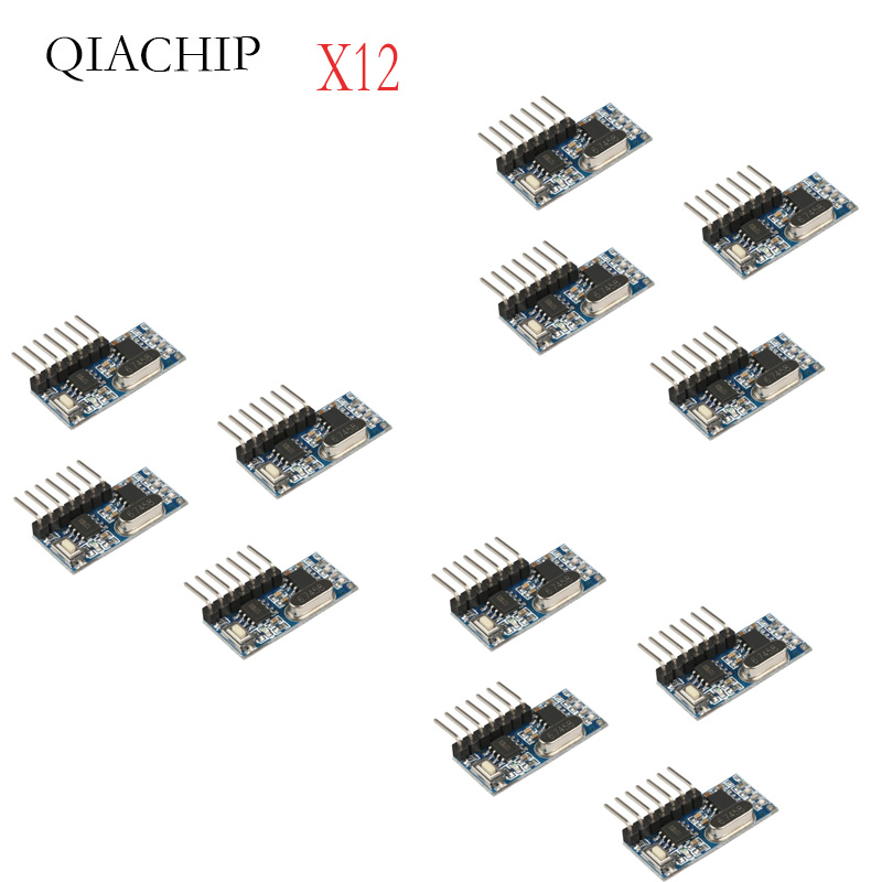 Image 3 - 16 Pcs 433Mhz Wireless Remote Control Switch 4CH RF Relay EV1527 Encoding Learning Module For Light Relay Receiver-in Remote Controls from Consumer Electronics