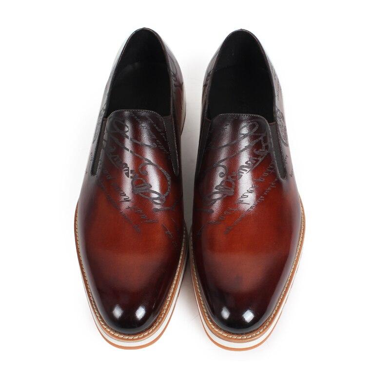 2019 vikeduo 핸드 메이드 핫 남성 로퍼 신발 100% 정품 가죽 패션 럭셔리 인과 파티 드레스 젊은 남자 원래 디자인-에서남성용 캐주얼 신발부터 신발 의  그룹 3