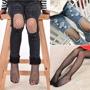 Puseky 2017 Fashion Net Pattern Pantyhose Tights Stockings Mesh Fishnet Fashion Kids Baby Girls Mesh Fishnet Pantyhose Tight tights