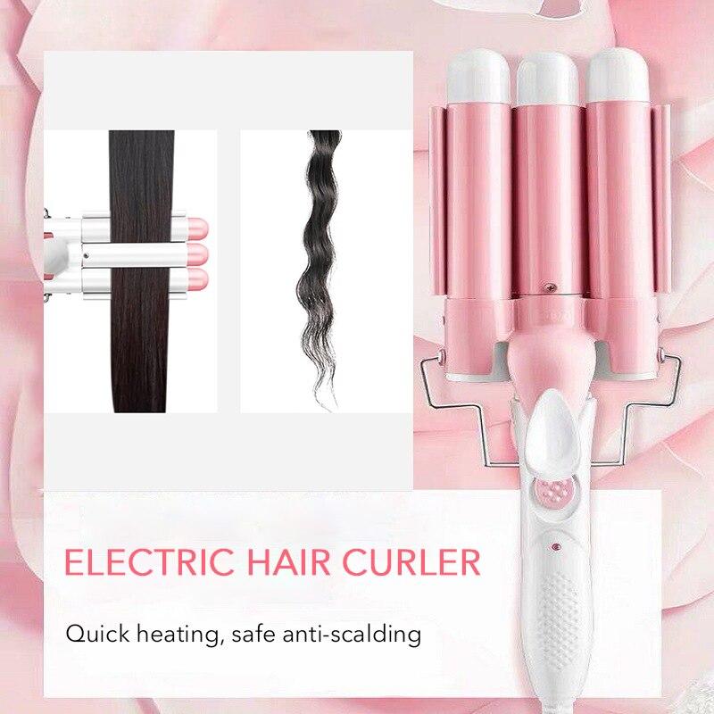 Электрические бигуди для волос, Быстрое нагревание, интеллектуальный Уход за волосами, бигуди для волос