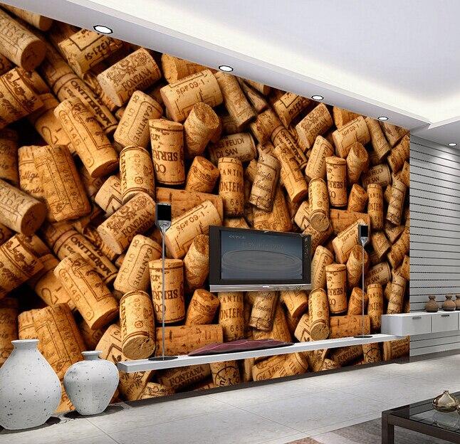 Benutzerdefinierte Alte Holz Wand Papier Kork Gemlde Fr Das Wohnzimmer Schlafzimmer Fernseheinstellungswand Wasser
