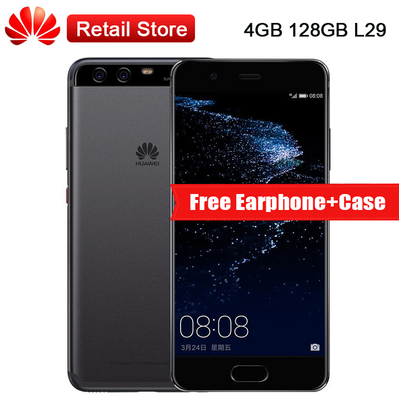 Global Firmware Huawei P10 4GB RAM 128GB ROM L29 5 1 Android 7 0 4G LTE