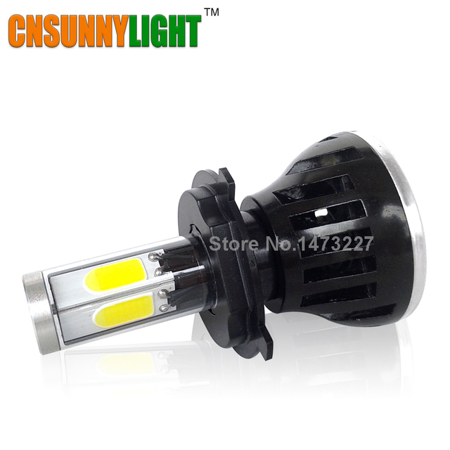 H4 H6 H7 H11 40W 4000LM LED Motorcycle Headlight Bulb Headlamp High Low Conversion Beam P43t BA20D Driving Headlamp Motor Lights