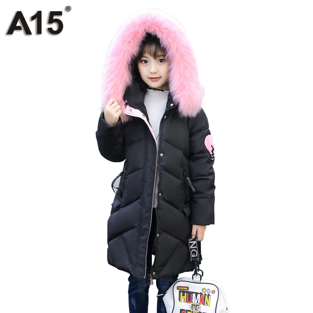 A15 Kids Winter Jacket for Girl Winter Parka Girls Green Teenager ...