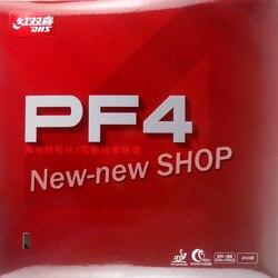 DHS PF4 PF 4 PF-4 Pips-In Tischtennis PingPong Gummi mit Schwamm