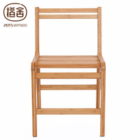 ZEN S BAMBOO Dining Chair Bamboo Chair Wooden Backrest Chair Diningroom Living Room Furniture