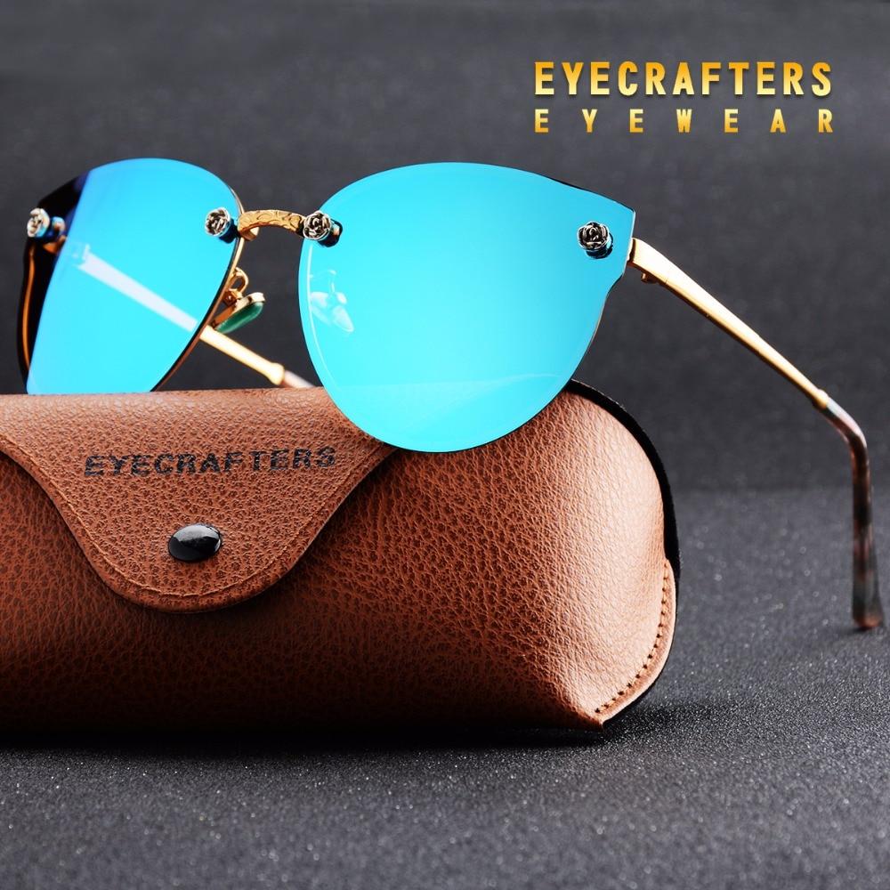 9fa1ca114a Pink New Women Polarized Sunglasses Brand Designer Ladies Retro Cat Eye Sun  Glasses Female Fashion Mirrored Eyewear Shades -in Sunglasses from Apparel  ...