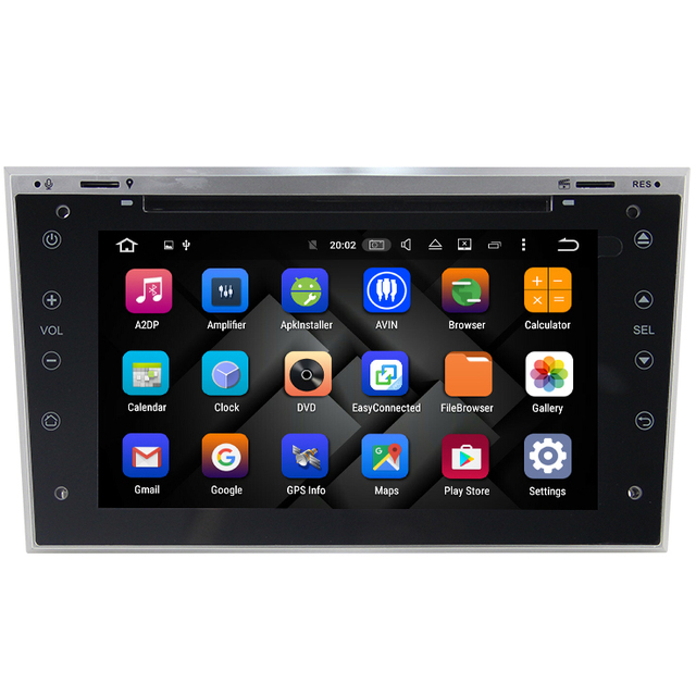 """4gb ram 7"""" android 8. 0 car dvd for opel vauxhall astra j 2010 2011."""