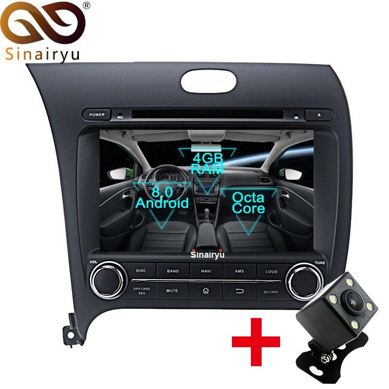 Sinairyu Android 8 0 Octa Core Car DVD Player for Kia CERATO K3 FORTE 2013 2015