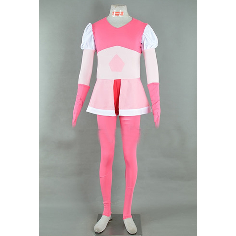 Steven Universe Pink Diamond Dress Cosplay Costume Adult Halloween Carnival Party Costume Outfit