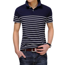 Summer New Men Solid Polo Shirt Black Gray  Polo Shirts Short Sleeve Classic Fashion Mens Designer Polo Shirts  size M-3XL