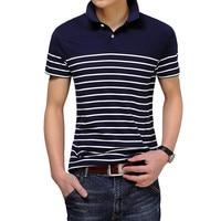 Summer New Men Solid Polo Shirt Black Gray Polo Shirts Short Sleeve Classic Fashion Mens Designer