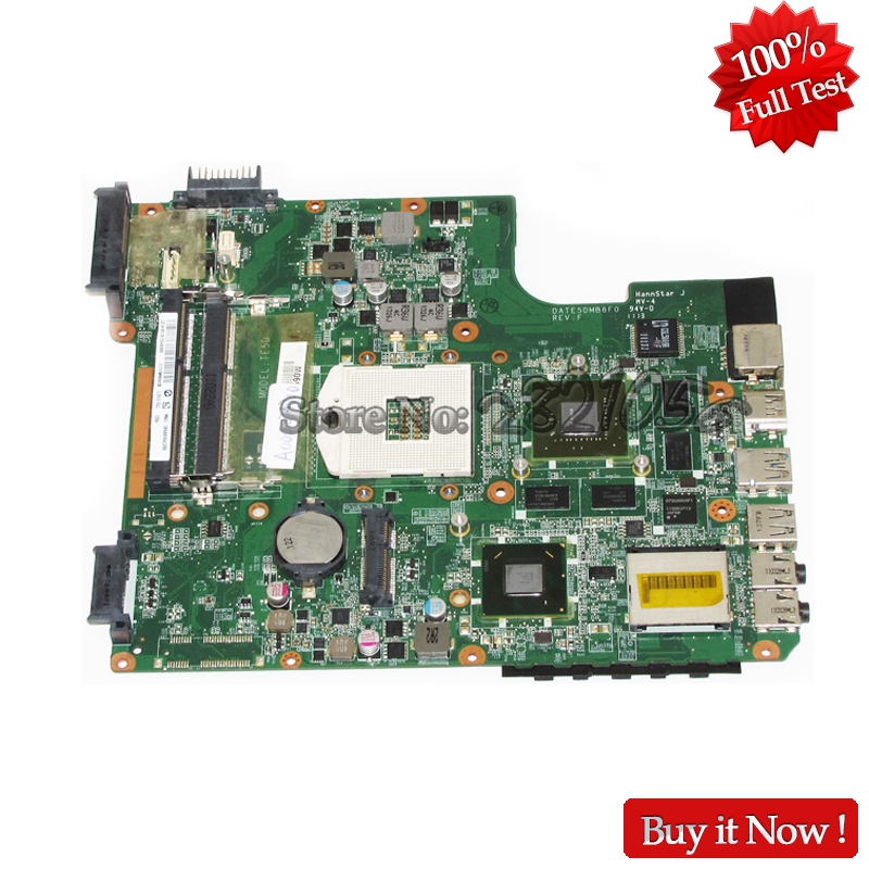 NOKOTION For Toshiba Satellite L700 L745 Laptop Motherboard A000074700 DATE5DMB8F0 HM65 DDR3 GT525M Video card