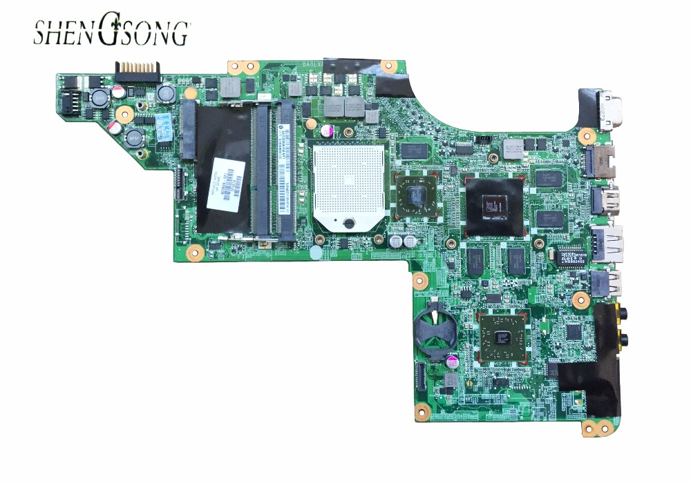 laptop motherboard for HP DV6 DV6-3000 series 603939-001 Mobility Radeon HD 5650 DDR3 Mainboard daolx8mb6d1 Free Shipping
