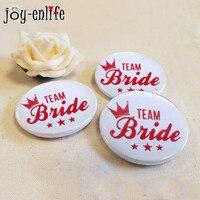 JOY-ENLIFE 10 шт. Команда Невесты знак Девичник свадебный душ невесты быть свадебные аксессуары для церемоний Декор поставки