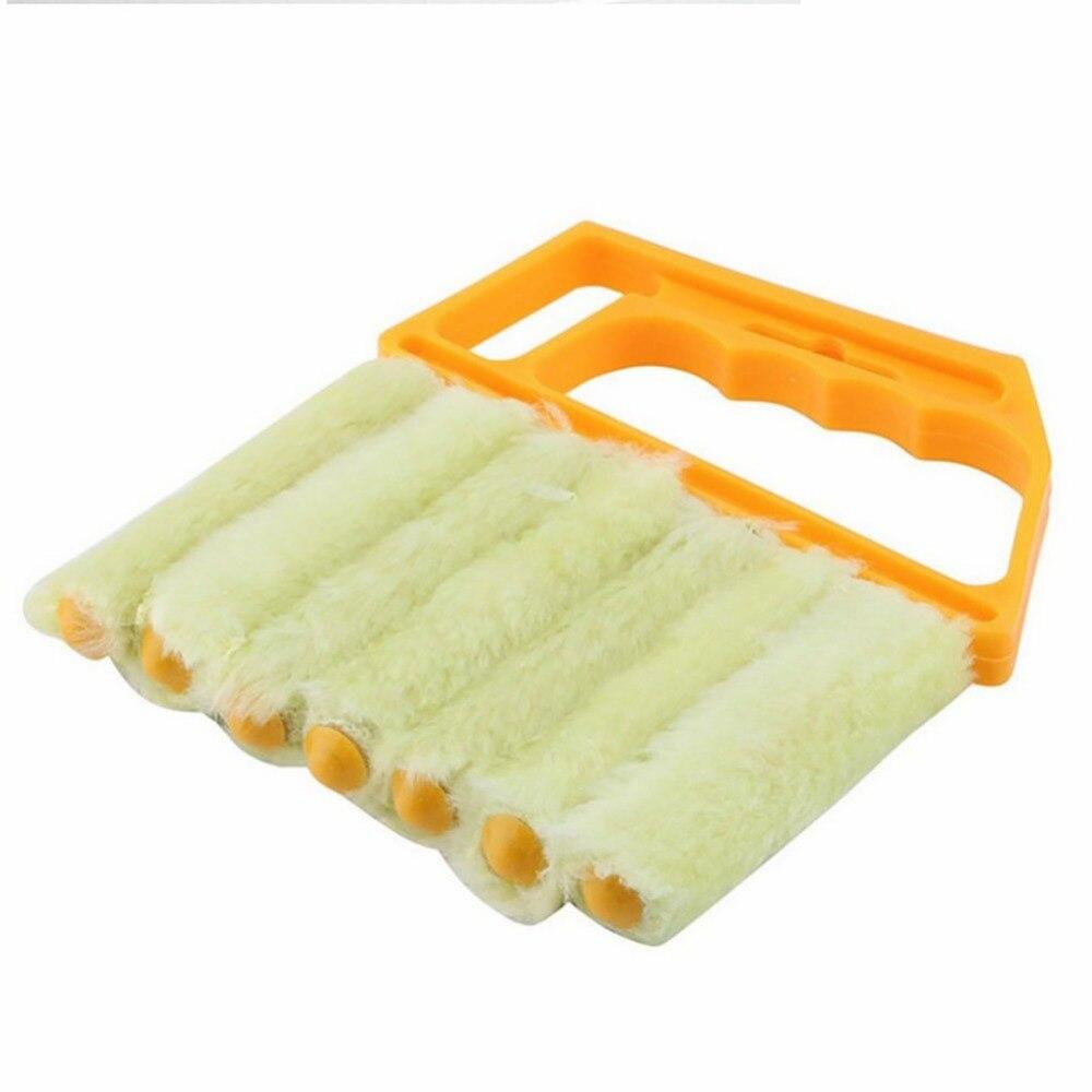 Венецианская щетка для чистки штор домашний сад бытовые товары бытовые щетки для чистки - 4