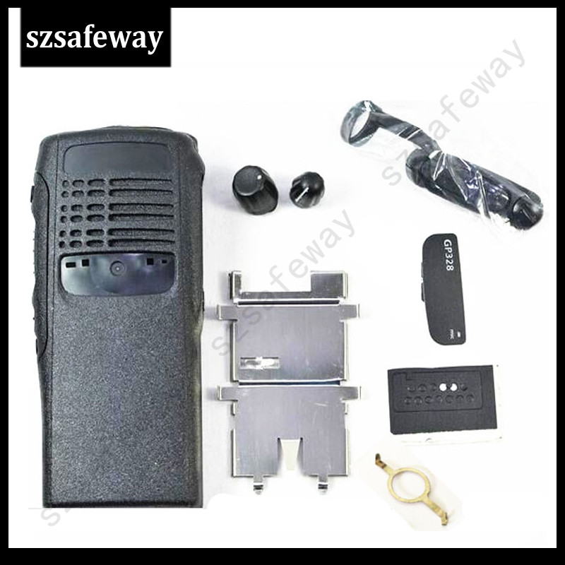 5 Set/LOT Two Way Radio Housing Case Cover  For Motorola GP328  Two Way Radio COVER Accessories Free Shipping