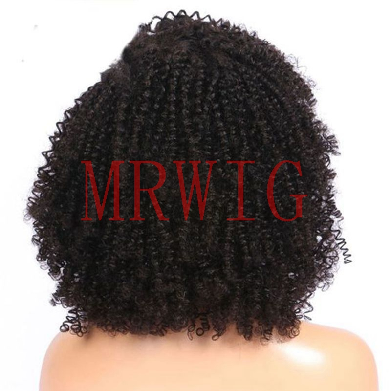 MRWIG Μαύρο / Μπράουν / Ξανθιά αφρό - Συνθετικά μαλλιά - Φωτογραφία 3