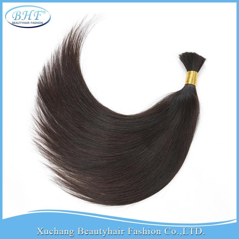 Russian human hair bulk Raw Bulk Hair Human hair for braiding bulk no attachment Cheap 100%human hair bulk 100gram