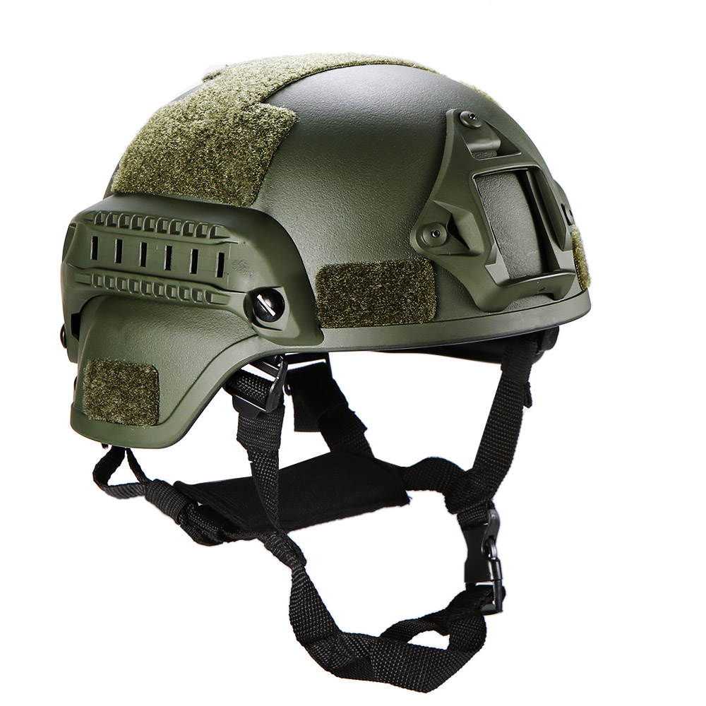 Outdoor Helmet Military Tactical Helmet Airsoft Gear CS Paintball Game Protective Hunting Helmets with Night Vision Camera Mount