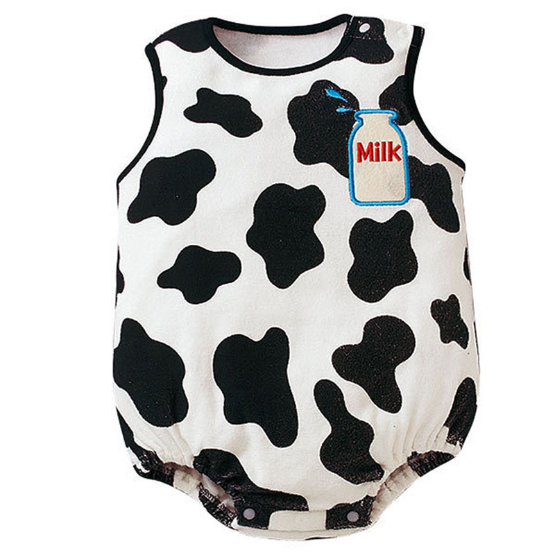 Newborn Baby Bodysuits Summer Infanrt Cotton Body Baby Sleeveless Boys Girls Clothes 6 Colors
