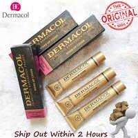 Dermacol Make-Up Abdeckung Authentische 100% 30g Primer Concealer Basis Professionelle Gesicht Dermacol Make-Up Foundation Contour Palette