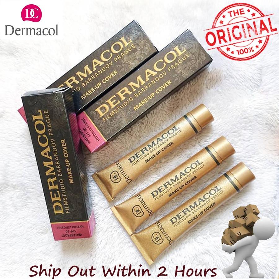 Dermacol  Makeup Cover Authentic 100% 30g Primer Concealer Base Professional Face Dermacol Makeup Foundation Contour Palette