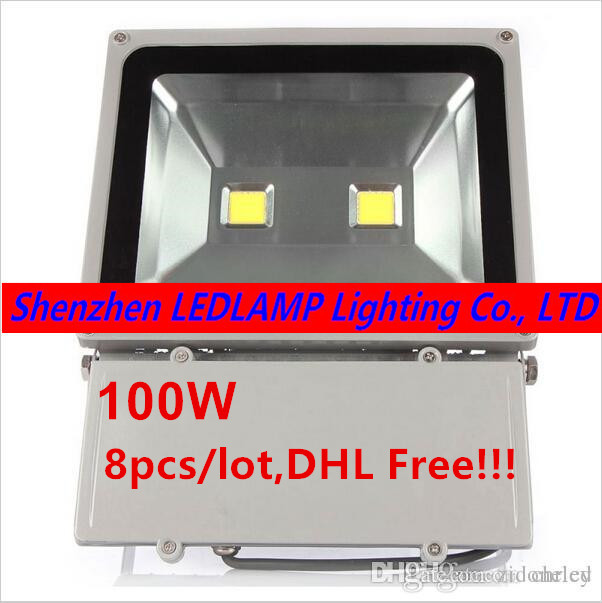 8pcs/lot DHL/Fedex Free ship!!!,AC85V-265V 100W Outdoor Led Floodlight Lamps Waterproof Led Flood light Garden Outdoor Lighting otis redding otis redding shake