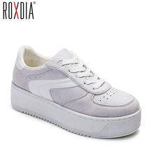 0683c9feb78 ROXDIA merk schoenen vrouw sneakers lente platform vrouwen schoenen mode dames  flats dikke zool trainers plus size 36-41 RXW501
