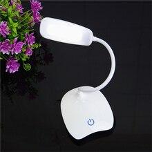 18 LEDs Reading Light USB Charging 3 Mode Flexible Table Lamps Touch Sensor Dimmable Reading Study White Light Desk Lamp