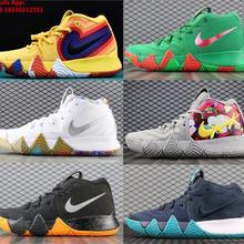 dc577af7cad5 2018 2019 Kyrie 4 EP 70s Uncle Drew Decades Pack Irving Mens Shoes(China)